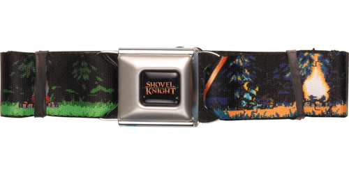 Shovel Knight Campfire Seatbelt Belt
