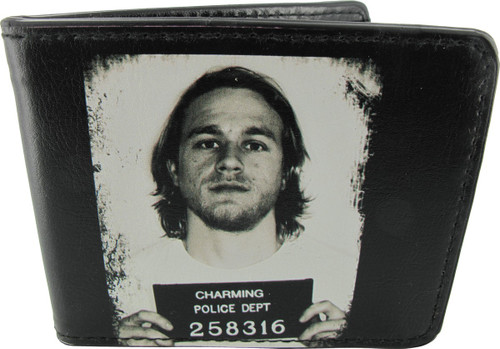 Sons of Anarchy Jax Mug Shot Wallet