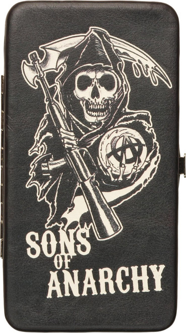 Sons of Anarchy Reaper Name Clutch Wallet