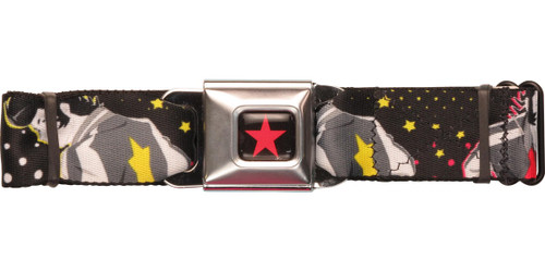Space Dandy Stars Seatbelt Belt