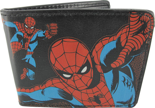 Spiderman Action Poses Wallet
