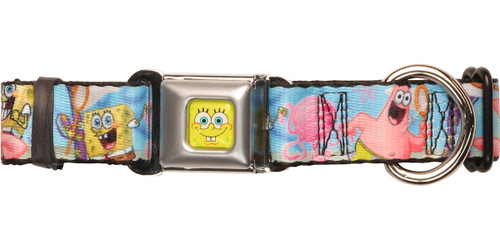 Spongebob Squarepants Patrick Fishing Pet Collar