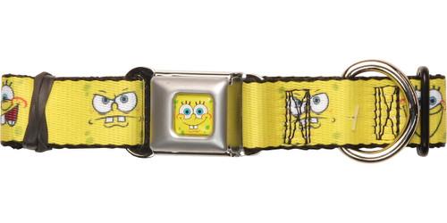 Spongebob Squarepants Faces Pet Collar