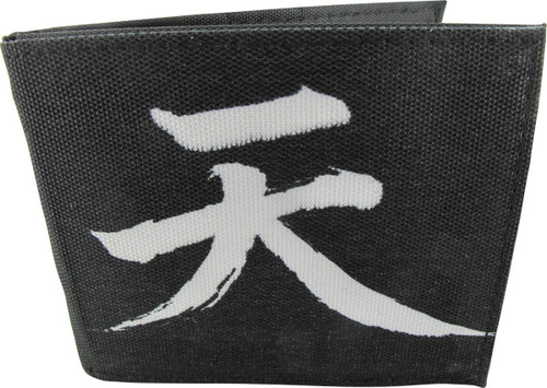 Street Fighter Akuma Symbol Bi-fold Wallet