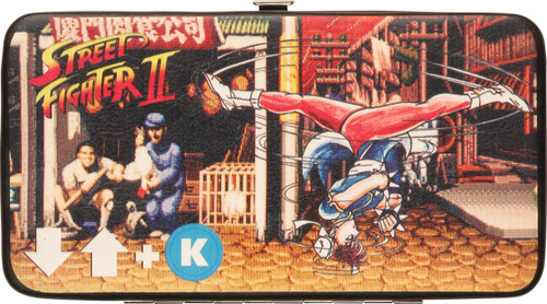 Street Fighter Chun Li Bird Kick Clutch Wallet