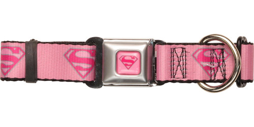 Supergirl Logos Pet Collar