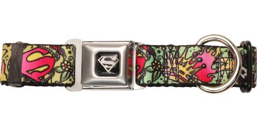 Supergirl Tattoo Wrap Pet Collar