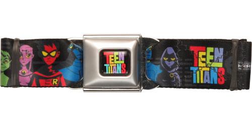 Teen Titans Ready Group Seatbelt Belt