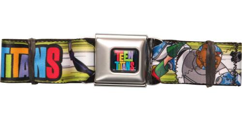 Teen Titans Name Group Seatbelt Belt