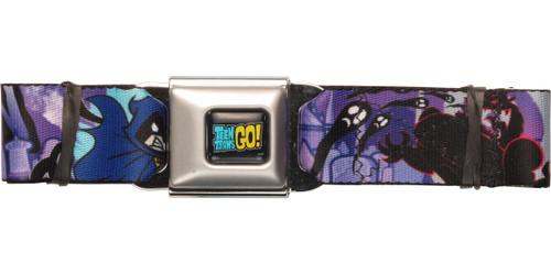 Teen Titans Go Trigon Raven Seatbelt Belt