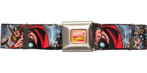 Thor Poses Name Seatbelt Belt