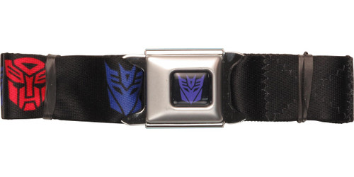Transformers Auto Decept Logos Seatbelt Belt