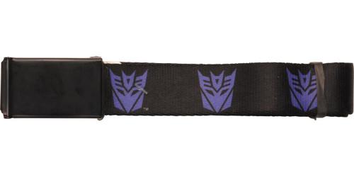 Transformers Purple Decepticon Logos Mesh Belt