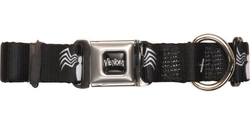 Venom Spider Logo Pet Collar