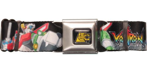 Voltron Action Poses Seatbelt Belt