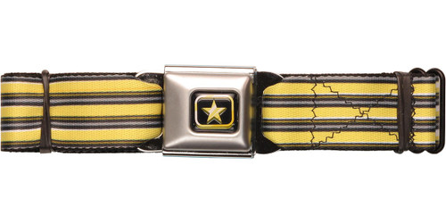 Voltron Waist Stripes Seatbelt Belt
