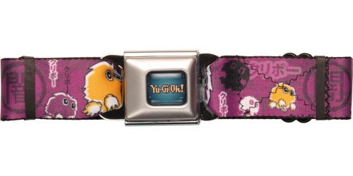 YuGiOh Kuriboh Purple Seatbelt Belt
