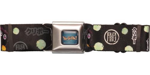 YuGiOh Kuriboh Black Seatbelt Belt