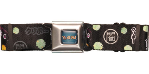 YuGiOh Kuriboh Black Seatbelt Belt