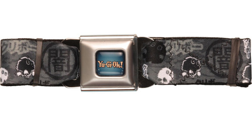 YuGiOh Kuriboh Gray Seatbelt Belt