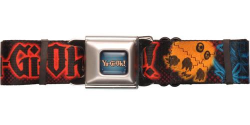 YuGiOh Neon Monsters Seatbelt Belt