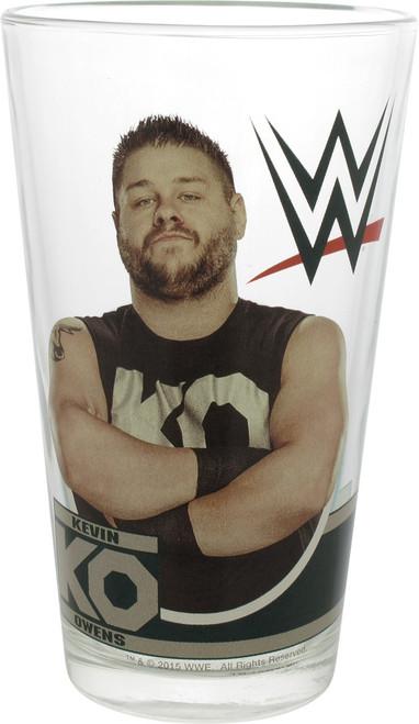 WWE Kevin Owens KO Pint Glass