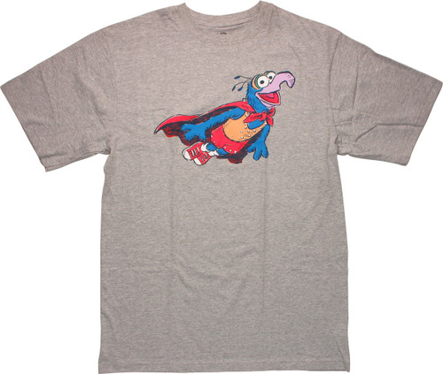 Muppets Flying Caped Gonzo Tall T-Shirt