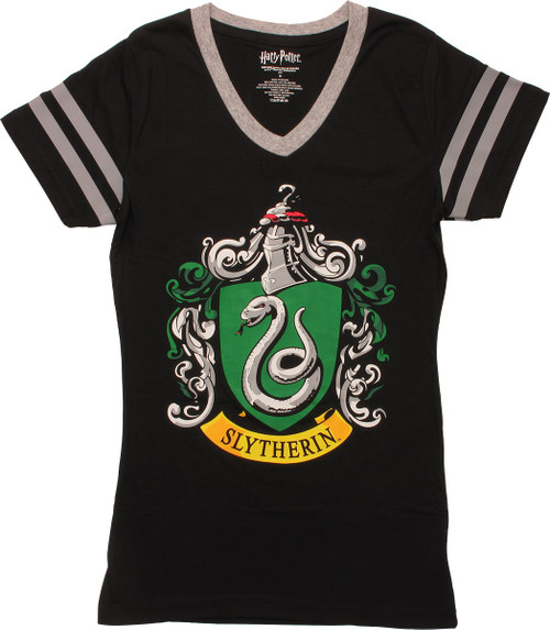 Harry Potter Slytherin Jersey Juniors T-Shirt