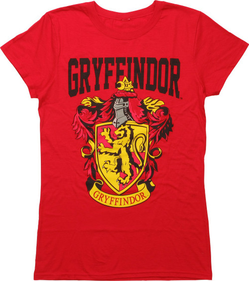 Harry Potter Gryffindor Crest Juniors T-Shirt