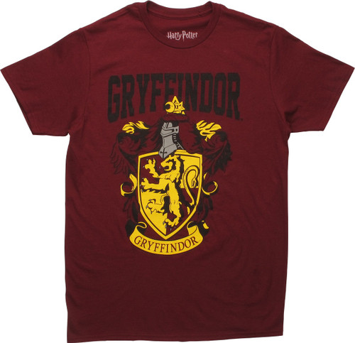 Harry Potter Gryffindor Shield Crest T-Shirt