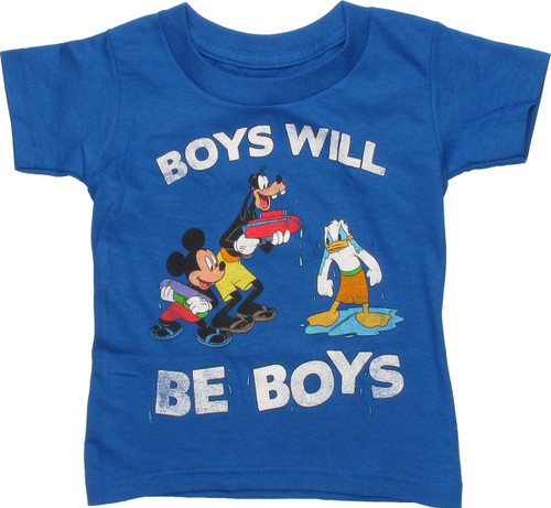 Disney Boys Will Be Boys Toddler T-Shirt