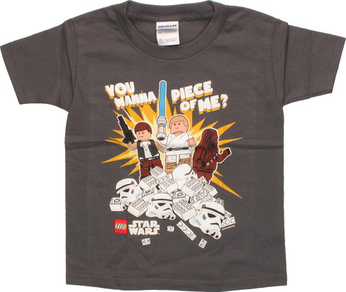 Star Wars Lego Wanna Piece of Me Toddler T-Shirt