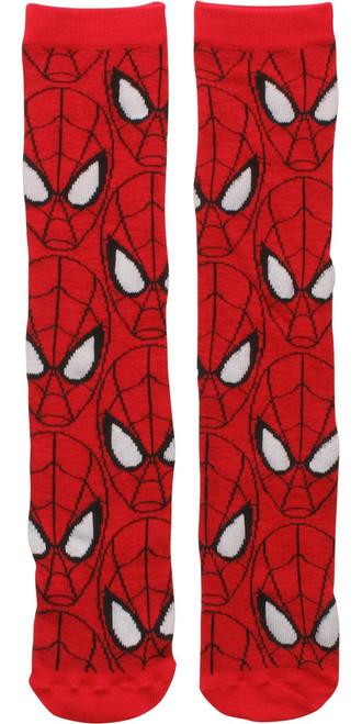 Spiderman Face All Over Socks