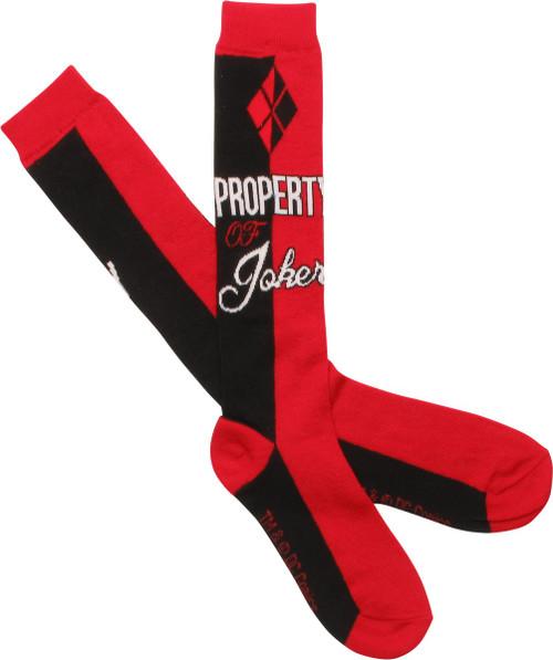 Suicide Squad Property Ladies Knee High Socks