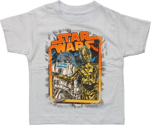 Star Wars Original Droids Framed Infant T-Shirt