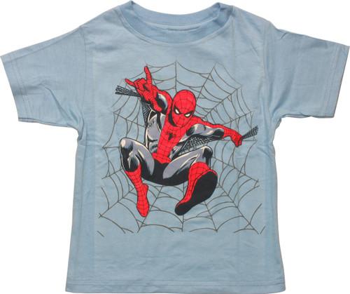 Spiderman Web Jump Toddler T-Shirt
