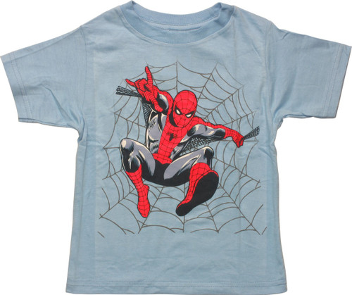 Spiderman Web Jump Toddler T-Shirt