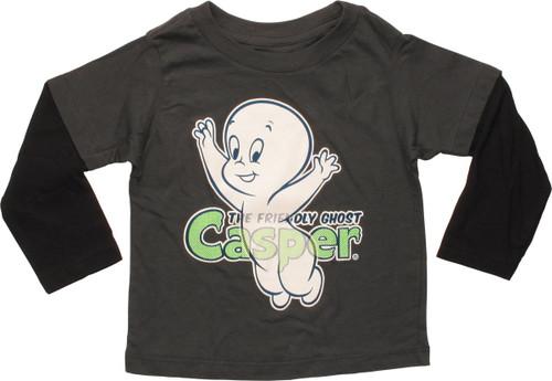 1d9163fa4 Casper Ghost Glow in the Dark LS Infant T-Shirt