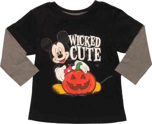 Mickey Mouse Wicked Cute Long Sleeve Infant Shirt