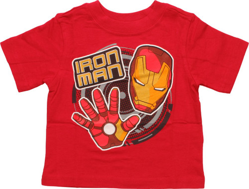 Iron Man Big Hand and Face Infant T-Shirt