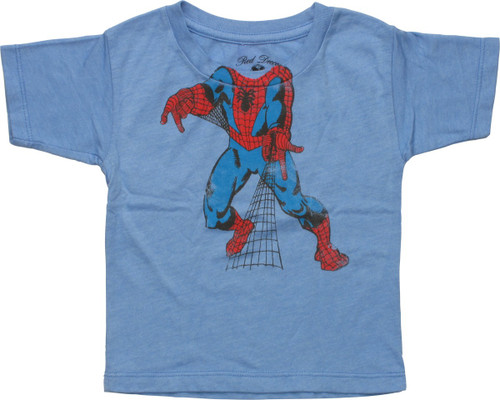 Spiderman Body Distressed Infant T-Shirt