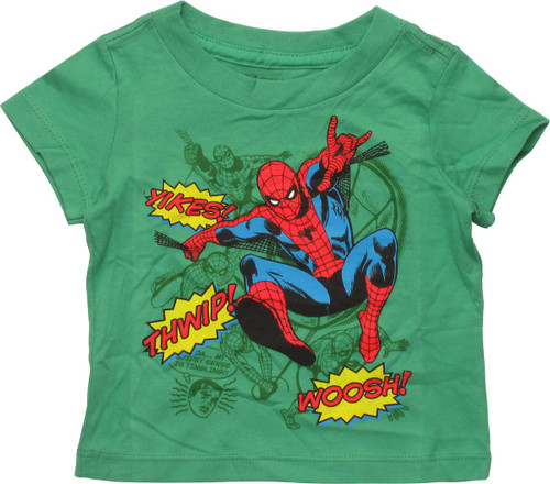 Spiderman Sound Effects Infant T-Shirt