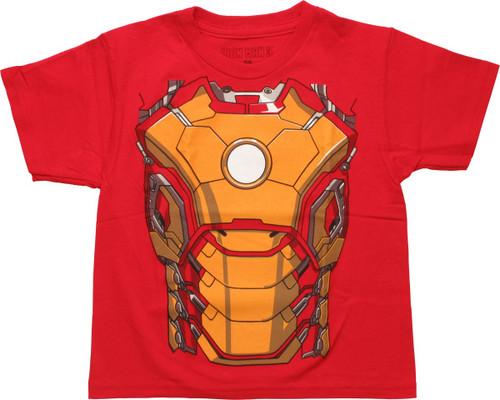Iron Man 3 Costume Suit Juvenile T-Shirt
