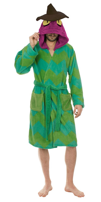 Rick and Morty Scary Terry Fleece Hooded Robe