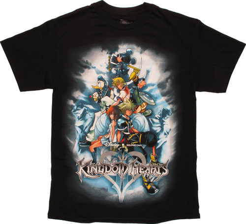 Kingdom Hearts Playstation 2 Game Cover T-Shirt