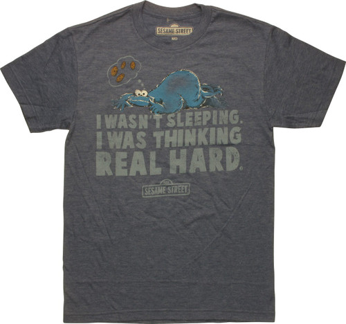 Sesame Street Cookie Monster Sleeping T-Shirt