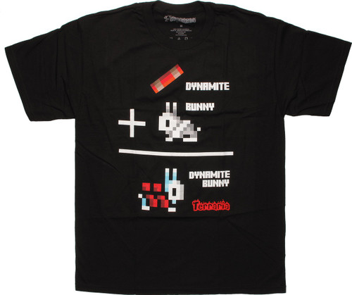 Terraria Bunny + Dynamite = Dynamite Rabbit Shirt