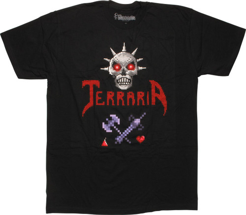 Terraria Skeletron And Weapons T-Shirt