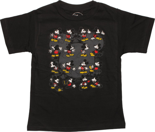 Mickey Mouse 16 Poses Toddler T-Shirt