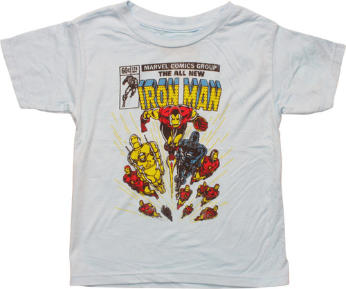 Iron Man Issue Cover 174 Toddler T-Shirt